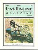 Gas Engine Magazine April 1989 1 HP Gray Engine on Cover