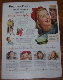 1947 Palmolive Life Magazine Advertisement Lovely Lady Testimonials