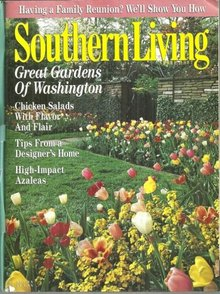 Southern Living Magazine April 1997 Great Gardens of Washington