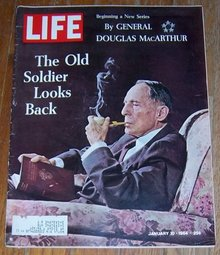 Life Magazine January 10, 1964 General Douglas MacArthur On cover