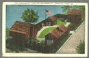 Postcard of Fort Nashborough, First Ave and Church Street, Nashville, Tennessee