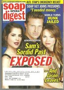 Soap Opera Digest April 24, 2007 Sam's Sordid Past Exposed from General Hospital