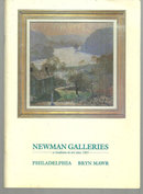 Newman Galleries Art Catalog with Price List Illustrated