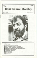 Book Source Monthly Magazine April 1988 David Kherdian Checklist