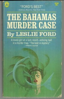 Bahamas Murder Case by Leslie Ford 1951 Vintage Paperback Mystery