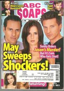 ABC Soaps in Depth Magazine May 9, 2006 General Hospital May Sweeps Shockers