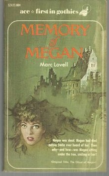 Memory of Megan by Marc Lovell 1968 Vintage Gothic Mystery Paperback