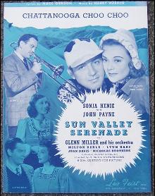 Chattanooga Choo Choo From Sun Valley Serenade Sonja Henie and John Payne 1941