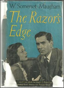 Razor's Edge by W. Somerset Maugham 1945 Gene Tierney and Tyrone Power on DJ
