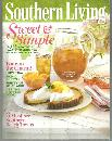 Southern Living Magazine May 2011 Sweet and Simple On Cover