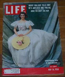 Life Magazine May 14, 1956 Gainsborough Look in New Fashions on cover