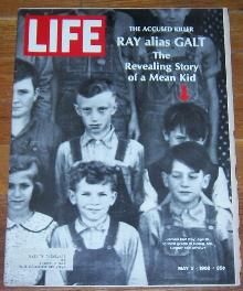 Life Magazine May 3, 1968 James Earl Ray Age 10 on cover