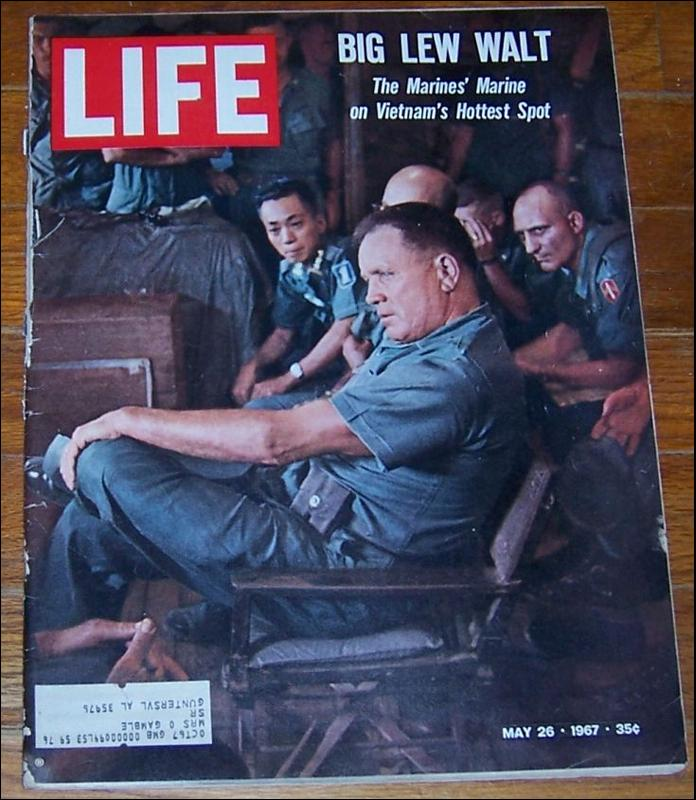 Life Magazine May 26, 1967 Big Lew Walt on cover