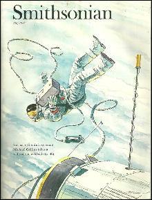 Smithsonian Magazine May 1988 Gemini Astronaut Michael Collins on cover