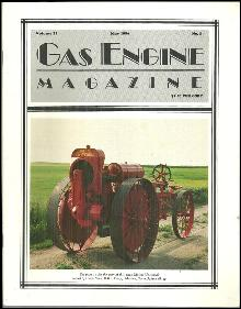 Gas Engine Magazine May 1986 1920 Moline Universal on Cover