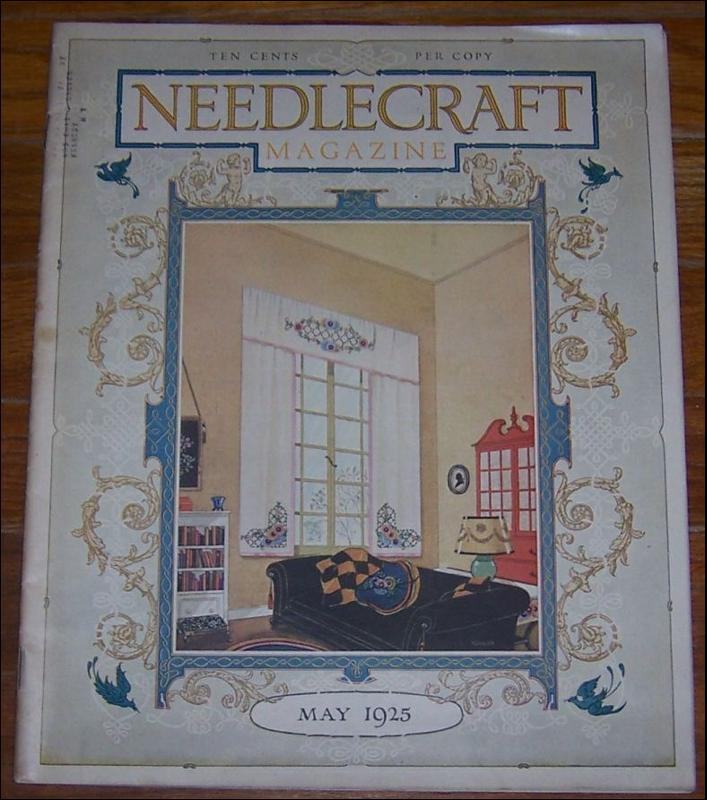 Needlecraft Magazine May 1925 The Amenities of Engagements