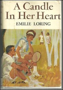 Candle in Her Heart by Emilie Loring 1964 Romantic Suspense with Dust Jacket