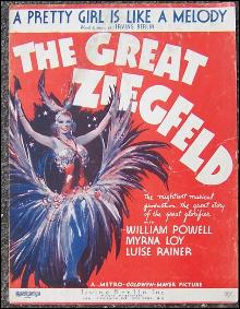 Pretty Girl Is Like a Melody From The Great Ziegfeld Starring William Powell