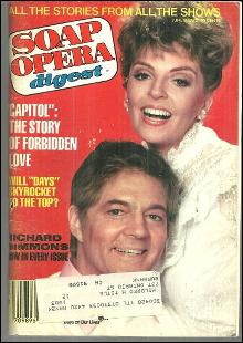 Soap Opera Digest June 8, 1982 Susan and Bill Hayes From Days of Our Lives Cover