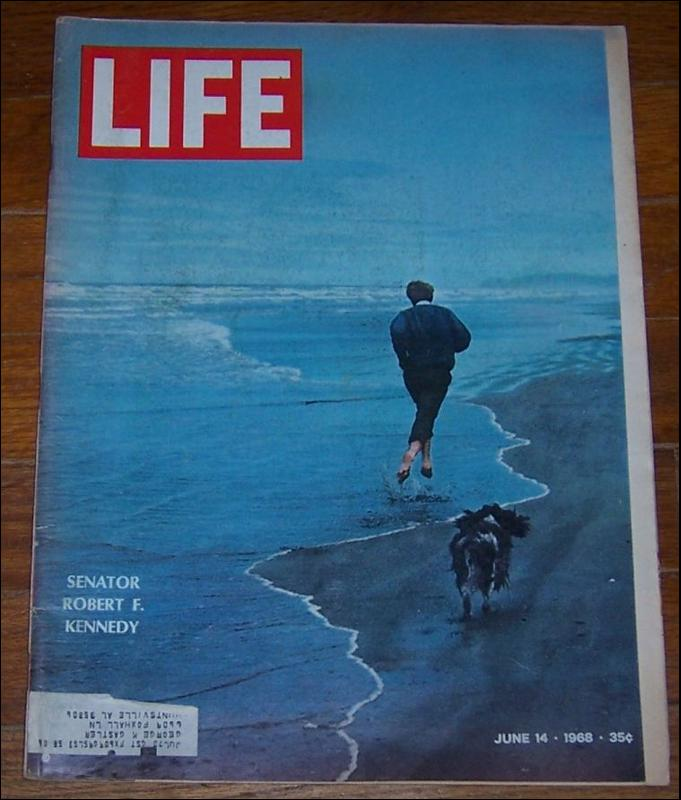 Life Magazine June 14 1968 Senator Robert F. Kennedy on cover