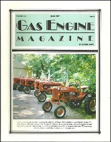 Gas Engine Magazine June 1987 Line-up of Internationals on Cover