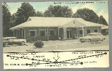 Postcard of Randal's Restaurant, 250 Franklin Street, La Grange, Georgia