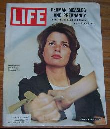Life Magazine June 4, 1965 German Measles and Pregnancy on cover