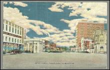Postcard of Broad Street, Tuscaloosa, Alabama