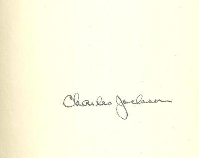 Second Hand Life Signed by Charles Jackson 1967 1st edition with Dust Jacket