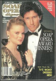 Soap Opera Digest December 2, 1986 Patsy Pease and Charles Shaughnessy From DOOL