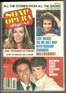 Soap Opera Digest June 9, 1981 Kathryn Hays and Jamie Lyn Bauer on Cover