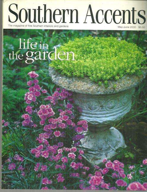 Southern Accents Magazine May-June 2000 Becky Thompson's Little Rock Garden