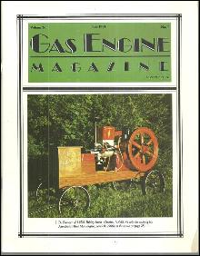 Gas Engine Magazine July 1991 Associated Hired Man Engine on Cover