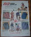 1941 World War II B. V. D. Summer Shirts Life Magazine Advertisement