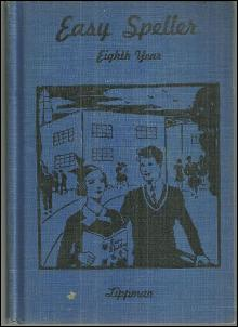 Easy Speller Eighth Year First Half by Jacob Lippman 1940 School Book