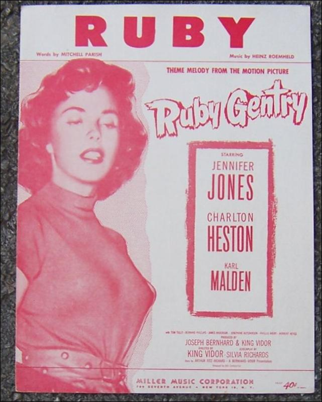 Ruby Theme Melody from the Motion Picture Ruby Gentry starring Jennifer Jones