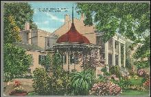 Postcard of Ante Bellum Home, Vicksburg, Mississippi