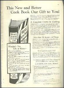1932 Good Housekeeping Advertisment Meals Tested, Tasted and Approved Cook Book