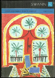 Swann Galleries 19th & 20th Century Prints & Drawings, Sale 2070, March 7, 2006