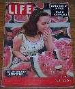 Life Magazine July 11, 1955 Young Star on Location: Susan Strasberg on cover