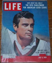 Life Magazine July 6, 1959 Gardner McKay, Actor, Athlete Artist on cover