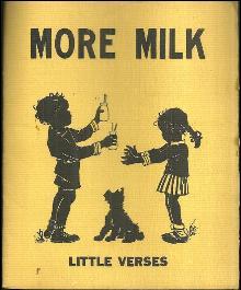 More Milk Little Verses by Josephine Van Dolzen Pease 1955 Dairy Council
