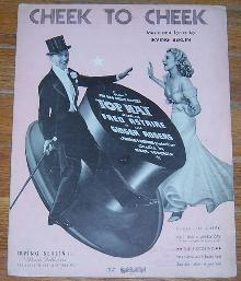 Cheek to Cheek From Top Hat starring Ginger Rogers and Fred Astaire 1935 Music
