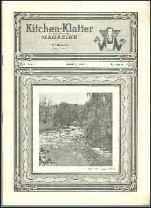 Kitchen Klatter Magazine August 1944  August in the Vegetable Garden