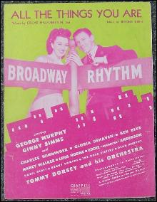 All the Things You Are George Murphy, Ginny Simms and Tommy Dorsey 1944 Music