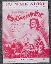 I'll Walk Alone From Song in My Heart starring Susan Hayward 1946 Sheet Music