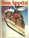 Bon Appetit Magazine August 1981 Hot Fudge Sundae Pie on the Cover