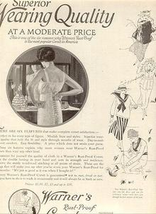 1921 Ladies Home Journal Warner's Rust Proof Corsets Magazine Advertisement