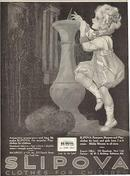 1921 Ladies Home Journal Magazine Advertisement for Slipova Clothes for Children