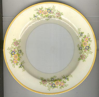 Made in Japan Small Plate with Yellow Flowers